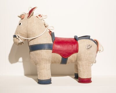 Renate Müller, 'Therapeutic Toy Pony in natural jute, designed and made by Renate Müller', 2015