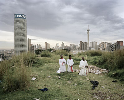 Mikhael Subotzky, 'Cleaning the Core, Ponte City, Johannesburg', 2008