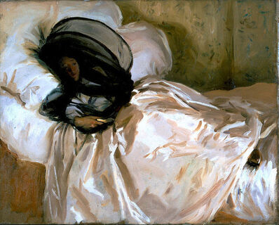 John Singer Sargent, 'The Mosquito Net', 1912