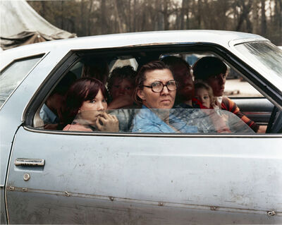Joel Sternfeld, 'Family in a Car in Tent City, Outside of Houston, Texas, January 1983', 1983
