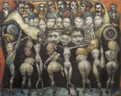 Henry Schwartz, 'untitled (chorus line)', 1991