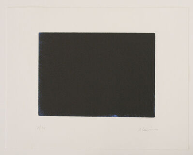 Arnulf Rainer, 'Das Blau der Nacht', 1997