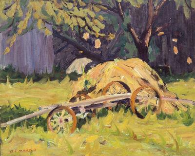 Bernice Fenwick Martin, 'The Old Hay Wagon'