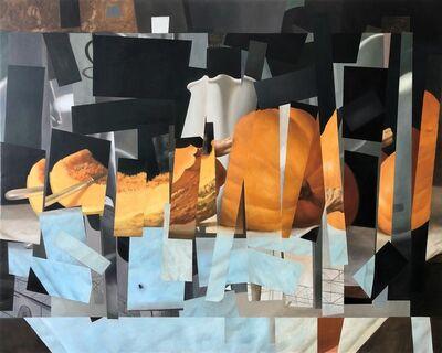 Pedro Vasconcelos de Sousa Girão, 'Quando tudo se desmorona - Quadrado branco', 2019