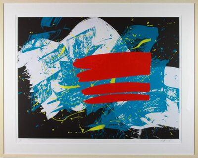 Kazuo Shiraga, 'Red Flag', NA