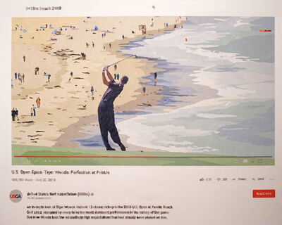 Joeggu Hossmann, 'Perfection at Pebble Beach', 2020