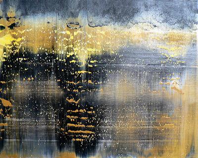 Harry Moody, 'Black Yellow Abstract Horizon #9'