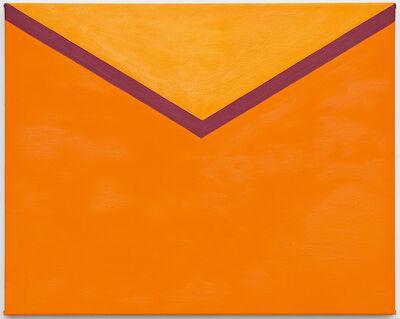 """Tessa Perutz, '""""Tangerine and Clementine Envelope""""', 2018"""