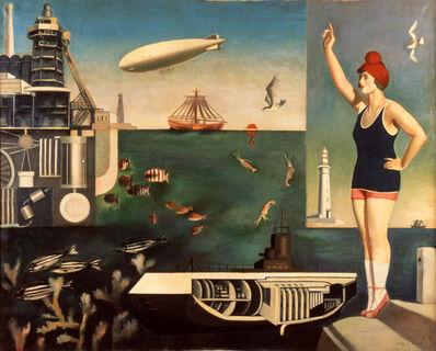 Koga Harue, 'Sea', 1929