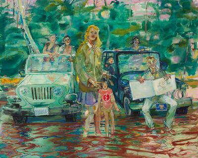 Angela Dufresne, 'Gena 4-Wheeling Class in Session', 2016