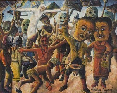 Wilson Bigaud, 'Mardi Gras ', 1954