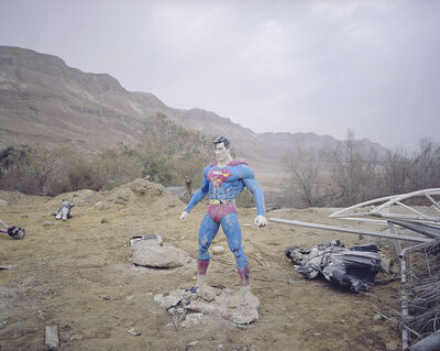 Oded Balilty, 'Hide and Seek, Superman, Dead sea', 2017