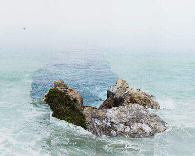 Laura Plageman, 'Response to Print of Pelican Rock, California', 2014