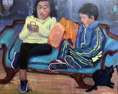 Jessica Alazraki, 'Blue Couch', 2019