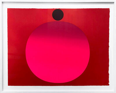 Rupprecht Geiger, 'Metapher Zahl Acht', 1985-89