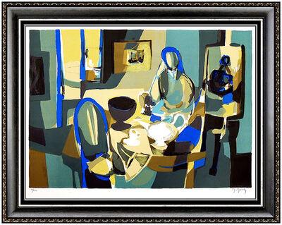 Marcel Mouly, 'Marcel Mouly Original Color Lithograph Cubism Portrait Signed Artwork Picasso', 20th Century