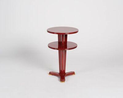 Maison Leleu, 'Two-tier Side Table', 1955