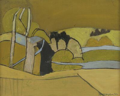 Keith Vaughan, 'Ochre Landscape', 1952