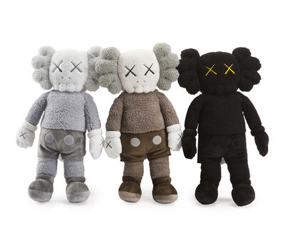 KAWS, ''Holiday: Hong Kong' Plush Figure Set', 2019
