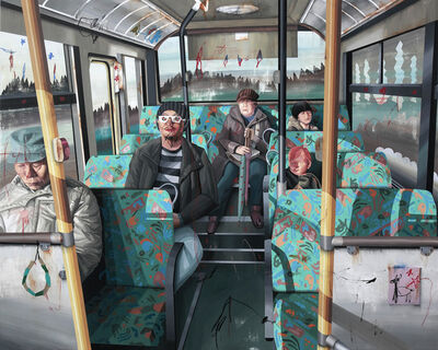 Shih Yung Chun, 'Hong Kong x Japan. C  -  Bus Ride', 2014