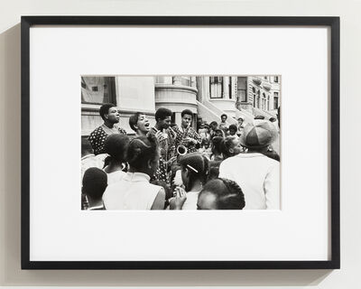 Ernest Cole, 'Block Party (from Deep South/New York City Life)', ca. 1973