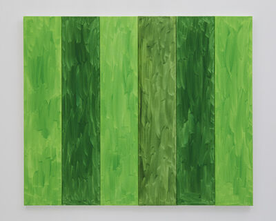 Benjamin Butler, 'Green Forest (in six parts)', 2019