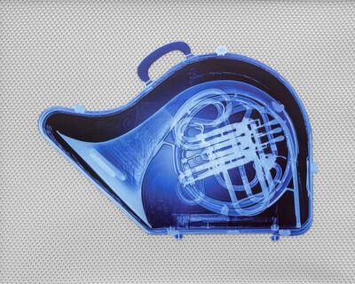 Blazo Kovacevic, 'Blue French Horn', 2015