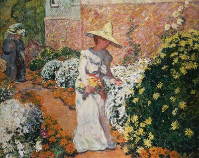 Louis Valtat, 'Madame Valtat au jardin à Anthéor', 1901