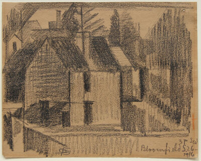 Oscar Bluemner, 'Bloomfield', 1916