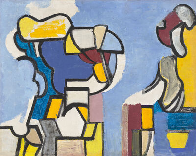 Nell Blaine, 'Abstraction', 1948-1949