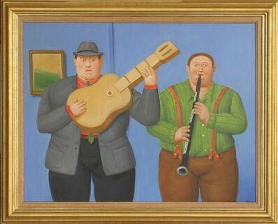 Fernando Botero, 'Dos Musicos (Two Musicians) ', 2014