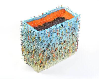 Lauren Mabry, 'Loopy Block', 2018
