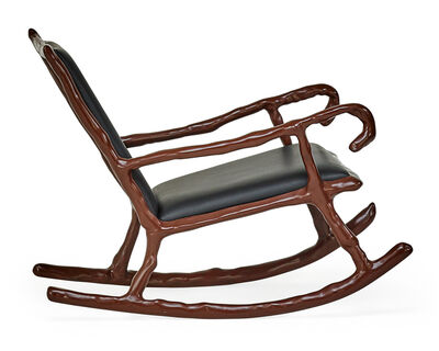 Maarten Baas, 'Clay low rocking chair, of recent vintage, The Netherlands'