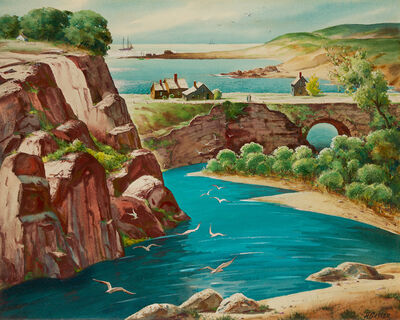 Henry Gasser, 'Seagull Haven', ca. 1950s-1960s