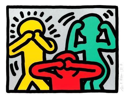 Keith Haring, 'Pop Shop III (2)', 1989