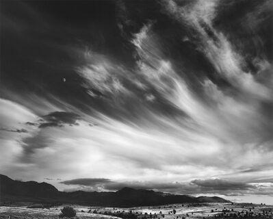 Ansel Adams, 'Moon and Clouds, California', 1959