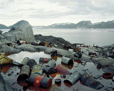 """Olaf Otto Becker, 'Ikerasak, Qarajaqs Icefjord 1, 07/2005 70° 29'46"""" N, 51° 18'14"""" W', 2005"""