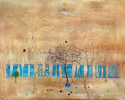 Xavier Puigmarti, 'Persian Garden in Winter #2 ', 2020