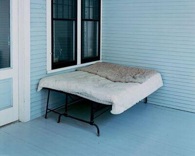 Alec Soth, 'Charles Lindbergh's Boyhood Bed, Little Falls, Minnesota, 1999', 1999
