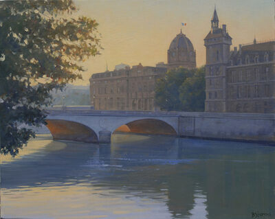 Bradley Stevens, 'Morning, Pont au Change'