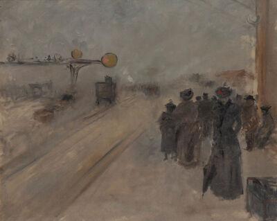 Jean-Louis Forain, 'L'Effet de Brume en Gare', circa 1884