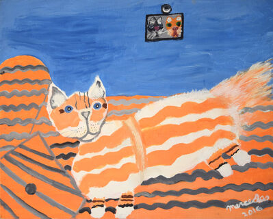Mercedes Kelly, 'Mother Cat in Living Room', 2016