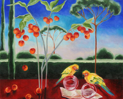 Katherine Pappas-Parks, 'One Moment is Timeless, as the Flying Birds Know II'