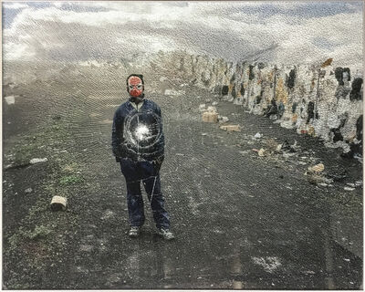 Mikhael Subotzky, 'Samuel (Standing), Vaalkoppies (Beaufort West Rubbish Dump)', 2006