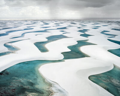 David Burdeny, 'Rain Over Lencois Maranhenses I', 2013