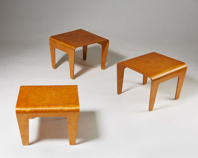 Marcel Breuer, 'Occasional Tables', 1936