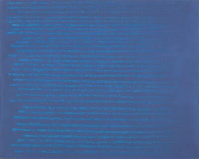 Edwina Leapman, 'Sea Blue on Grey Blue', 2014