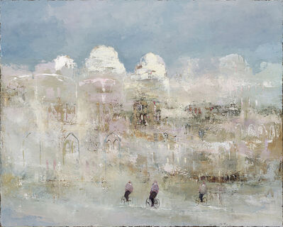 France Jodoin, 'Under the fog of a winter dawn ', 2020