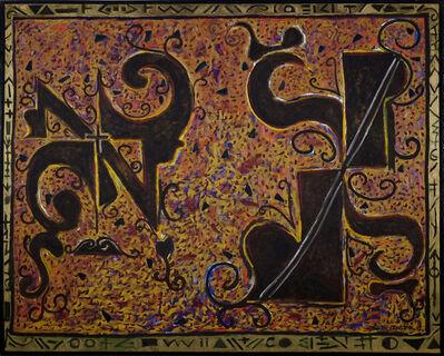 Burton Chenet, 'Two Faces', 1991