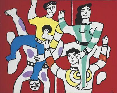 Fernand Léger, 'Les Quatre Acrobates', 1954